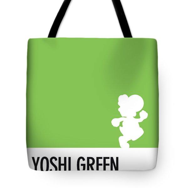 No36 My Minimal Color Code Poster Yoshi Tote Bag