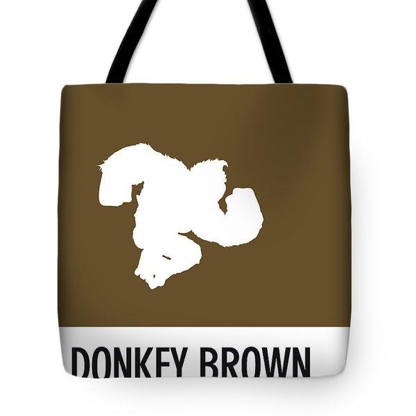 No37 My Minimal Color Code Poster Donkey Kong Tote Bag