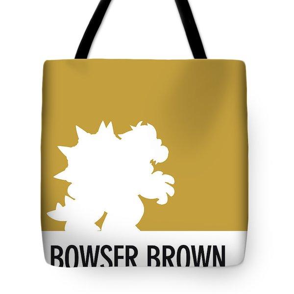 No38 My Minimal Color Code Poster Bowser Tote Bag