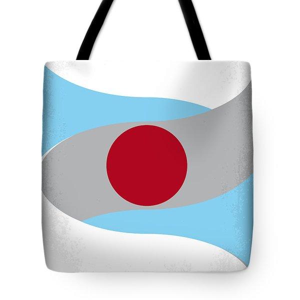 No462 My Minority Report Minimal Movie Poster Tote Bag