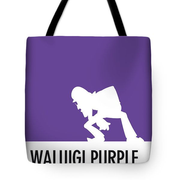 No42 My Minimal Color Code Poster Waluigi Tote Bag