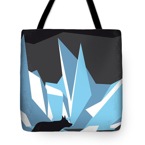 No466 My The Thing Minimal Movie Poster Tote Bag