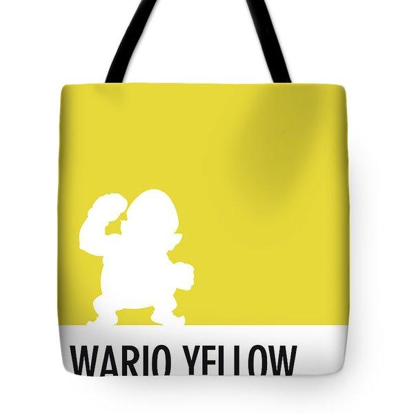 No43 My Minimal Color Code Poster Wario Tote Bag