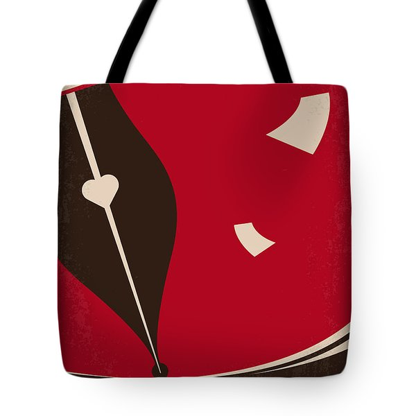 No440 My The Notebook Minimal Movie Poster Tote Bag by Chungkong Art