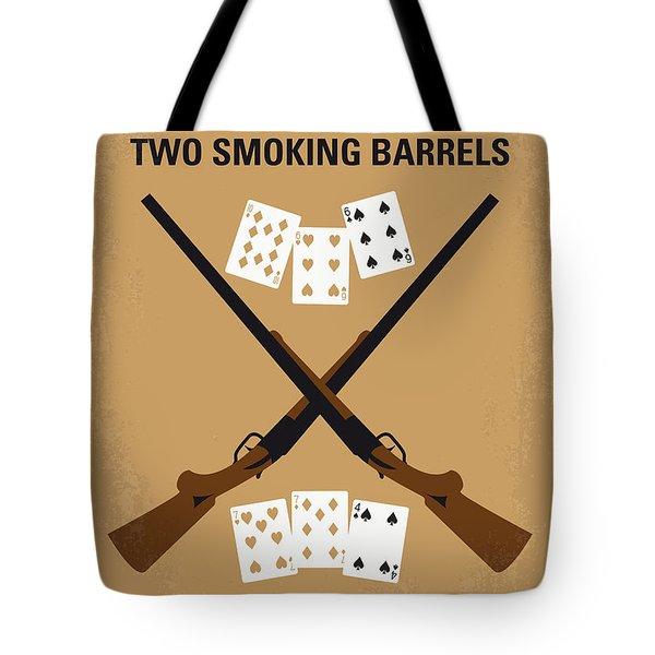 No441 My Lock Stock And Two Smoking Barrels Minimal Movie Poster Tote Bag