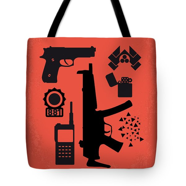 29cc5a8a2f94 No453 My Die Hard Minimal Movie Poster Tote Bag