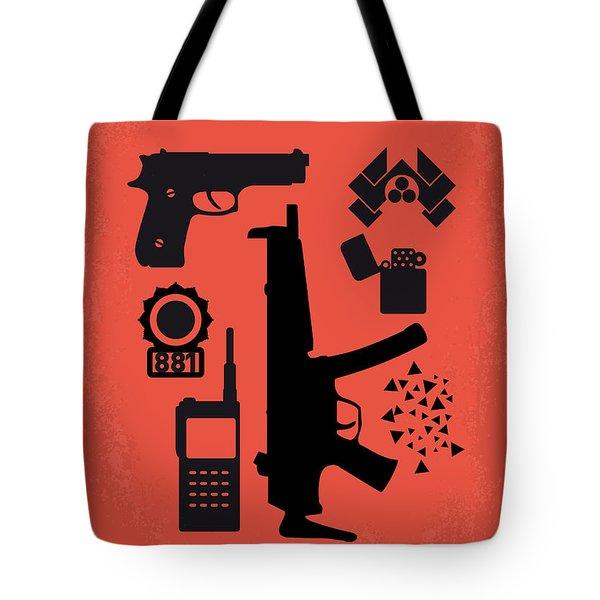No453 My Die Hard Minimal Movie Poster Tote Bag