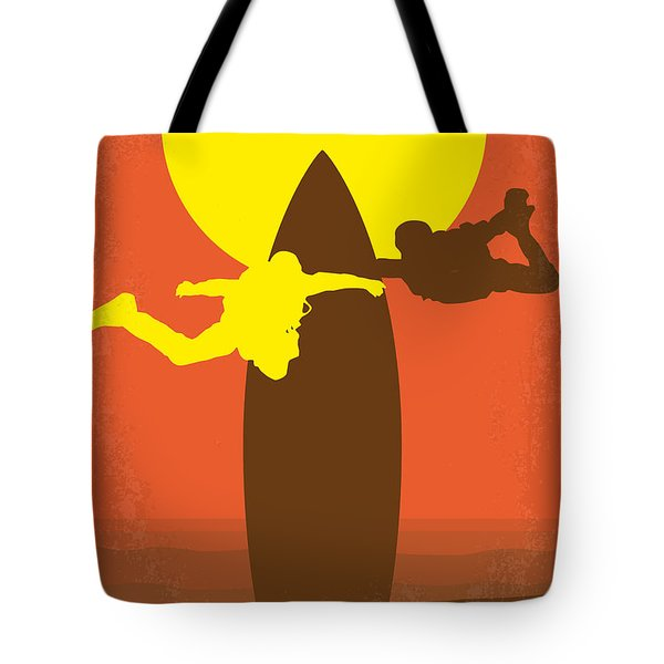 No455 My Point Break Minimal Movie Poster Tote Bag