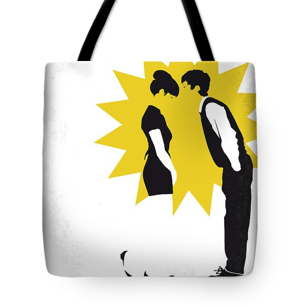 No500 My 500 Days Of Summer Minimal Movie Poster Tote Bag