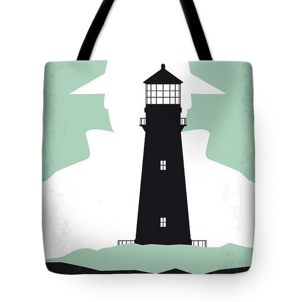 No513 My Shutter Island Minimal Movie Poster Tote Bag