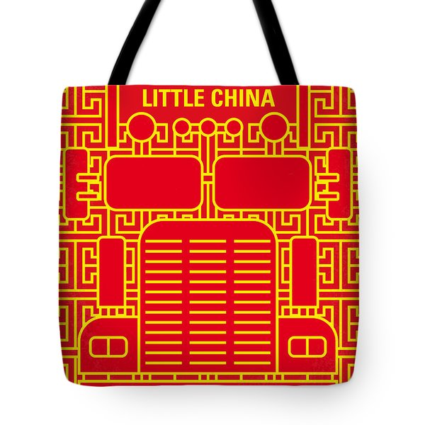 No515 My Big Trouble In Little China Minimal Movie Poster Tote Bag