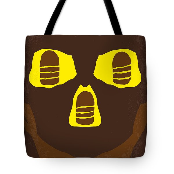 No517 My The Temple Of Doom Minimal Movie Poster Tote Bag by Chungkong Art