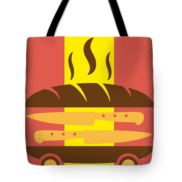 No524 My Chef Minimal Movie Poster Tote Bag