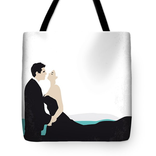 No529 My La Dolce Vita Minimal Movie Poster Tote Bag