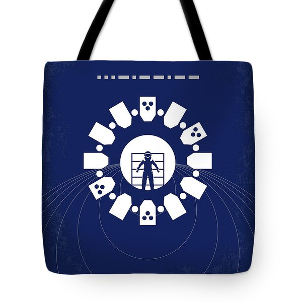 No532 My Interstellar Minimal Movie Poster Tote Bag