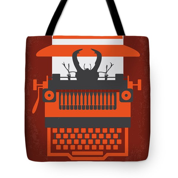 No534 My Naked Lunch Minimal Movie Poster Tote Bag