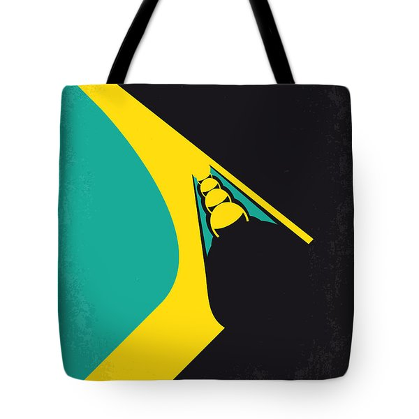 No538 My Cool Runnings Minimal Movie Poster Tote Bag