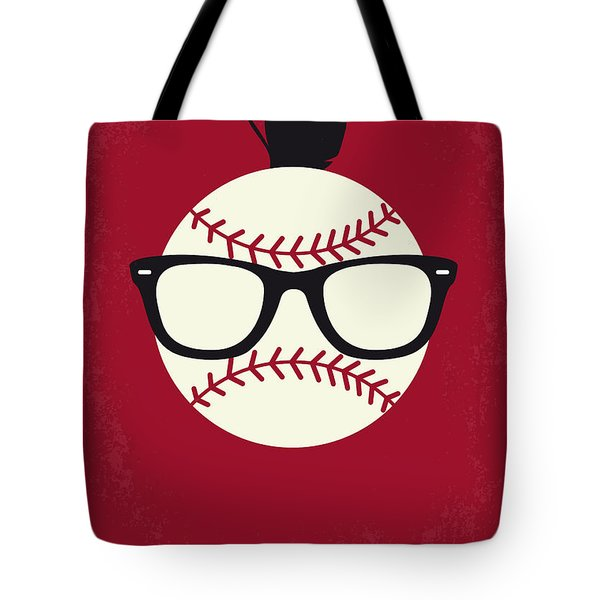 No541 My Major League Minimal Movie Poster Tote Bag