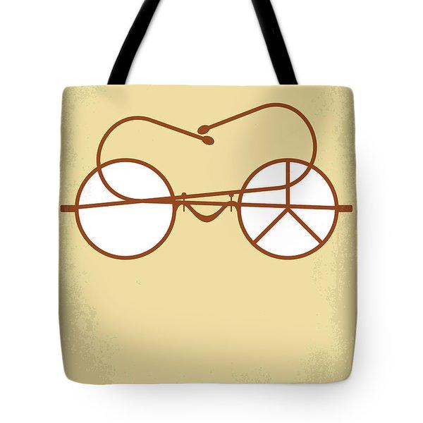 No543 My Gandhi Minimal Movie Poster Tote Bag