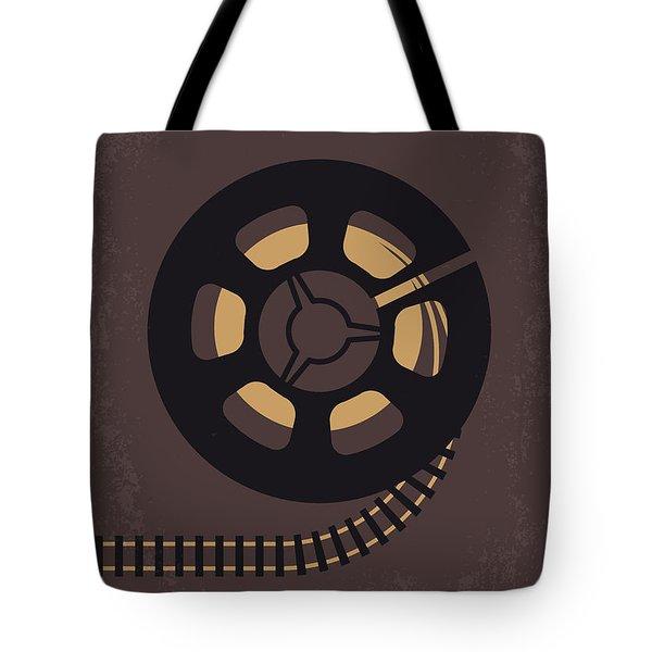 No578 My Super 8 Minimal Movie Poster Tote Bag
