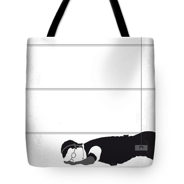 No583 My Mission Impossible Minimal Movie Poster Tote Bag