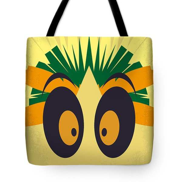 No589 My Madagascar Minimal Movie Poster Tote Bag
