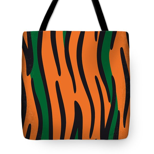 No601 My Jungle Book Minimal Movie Poster Tote Bag