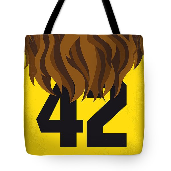 No607 My Teen Wolf Minimal Movie Poster Tote Bag