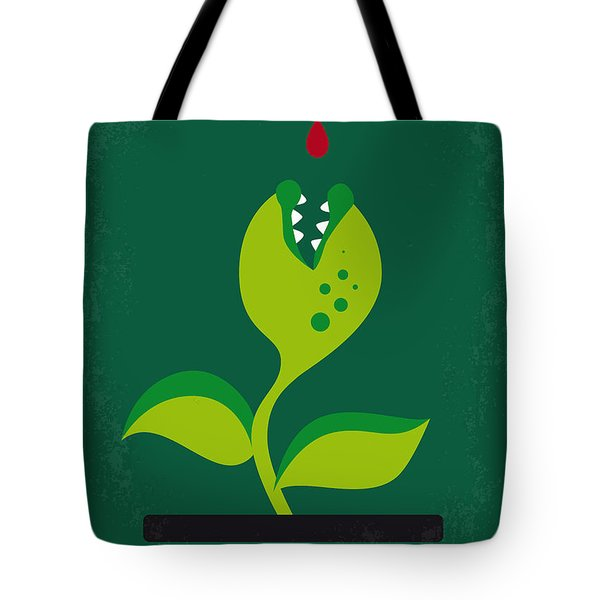 No611 My Little Shop Of Horrors Minimal Movie Poster Tote Bag