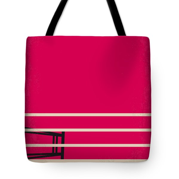 No613 My Million Dollar Baby Minimal Movie Poster Tote Bag