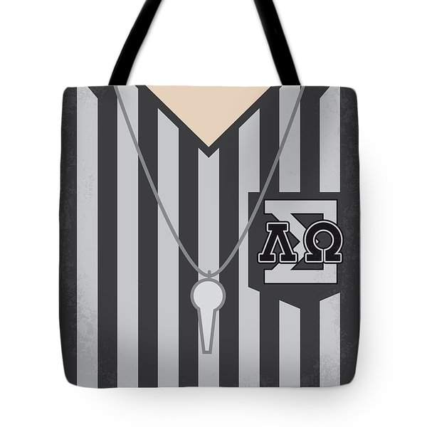 No614 My Old School Minimal Movie Poster Tote Bag