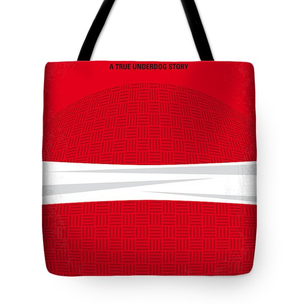 No617 My Dodgeball Minimal Movie Poster Tote Bag