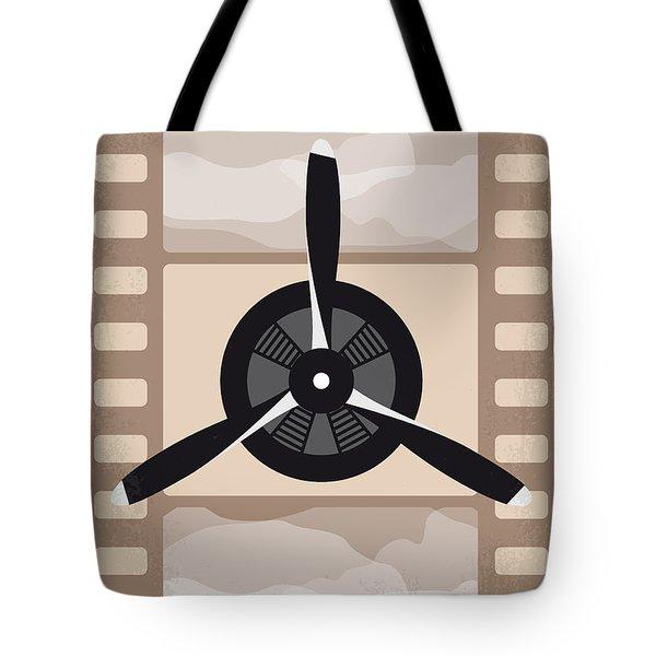 No618 My The Aviator Minimal Movie Poster Tote Bag