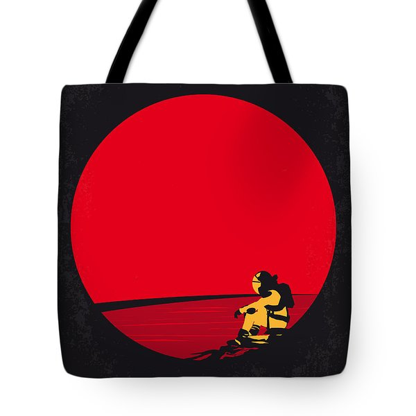 No620 My The Martian Minimal Movie Poster Tote Bag by Chungkong Art