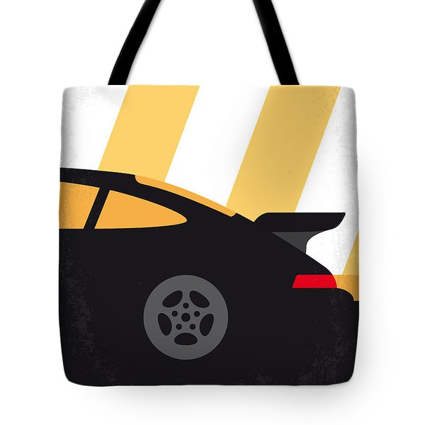 No627 My Bad Boys Minimal Movie Poster Tote Bag