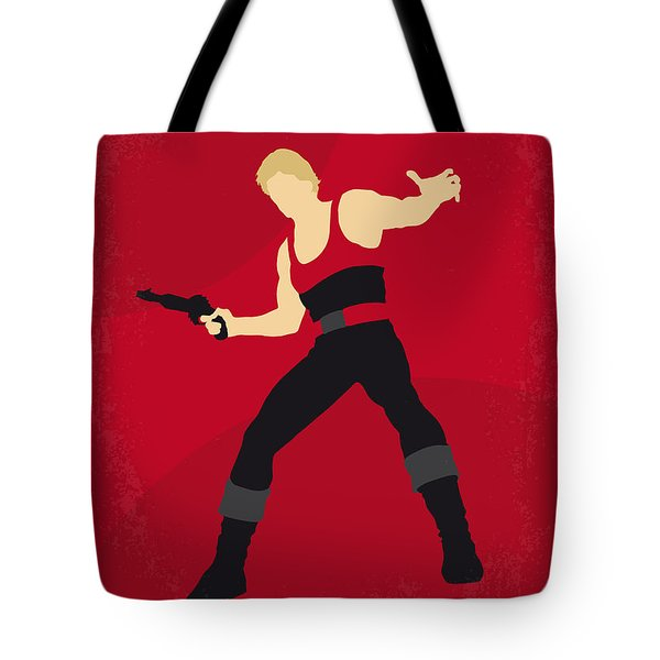 No632 My Flash Gordon Minimal Movie Poster Tote Bag