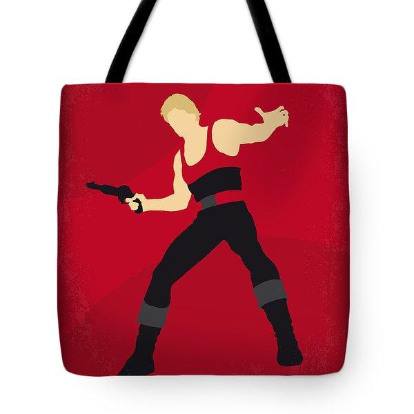 No632 My Flash Gordon Minimal Movie Poster Tote Bag