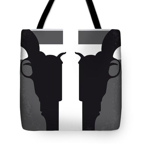 No640 My Pale Rider Minimal Movie Poster Tote Bag