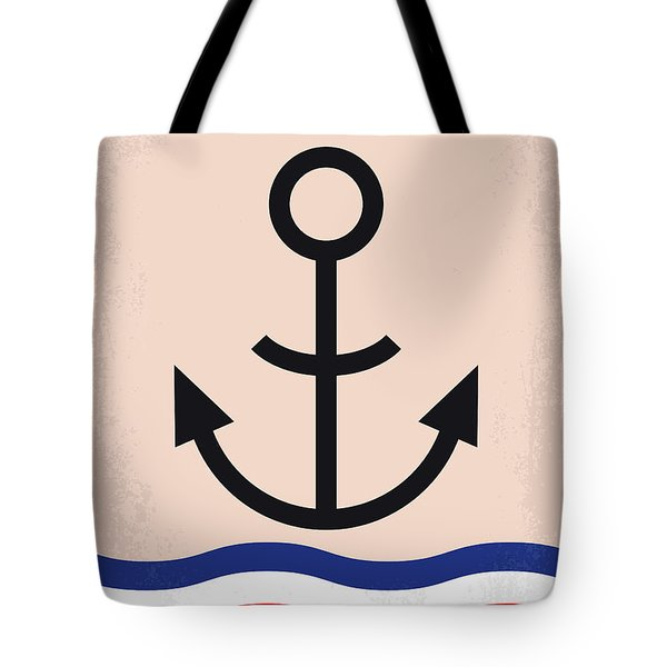 No648 My Popeye Minimal Movie Poster Tote Bag