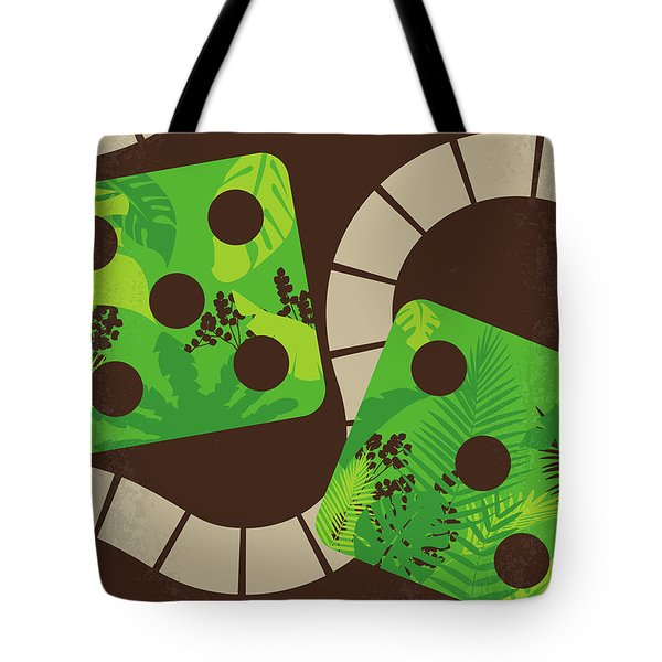 No653 My Jumanji Minimal Movie Poster Tote Bag