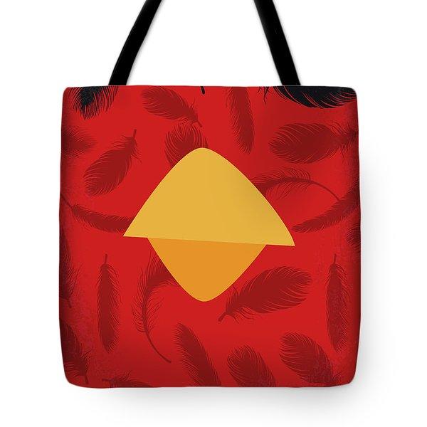 No658 My Angry Birds Movie Minimal Movie Poster Tote Bag