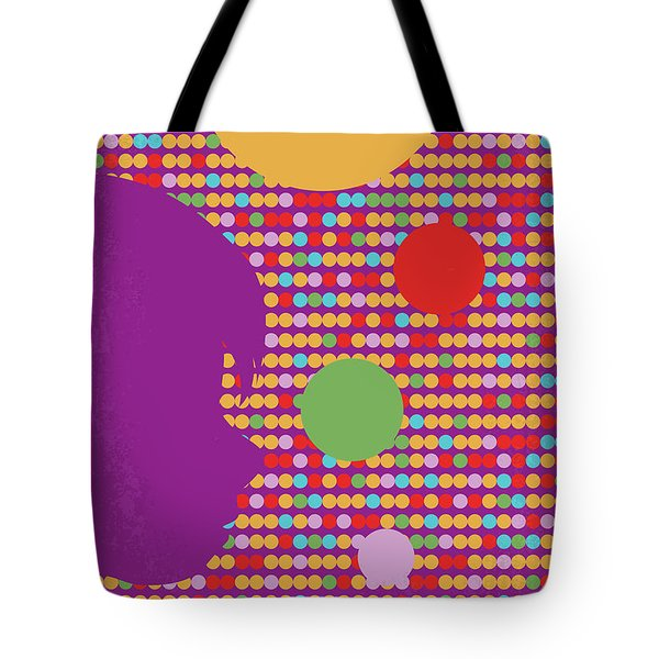 No664 My Inside Out Minimal Movie Poster Tote Bag
