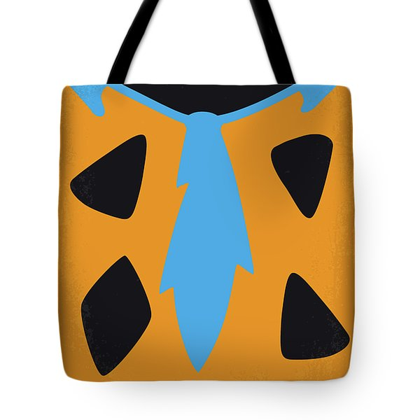 No669 My The Flintstones Minimal Movie Poster Tote Bag
