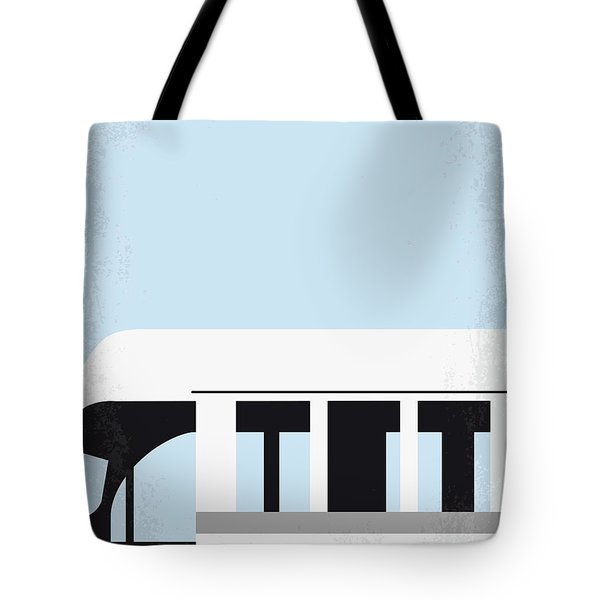 No677 My Into The Wild Minimal Movie Poster Tote Bag
