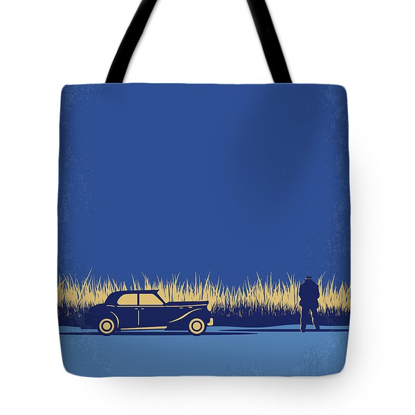 No686-1 My Godfather I Minimal Movie Poster Tote Bag