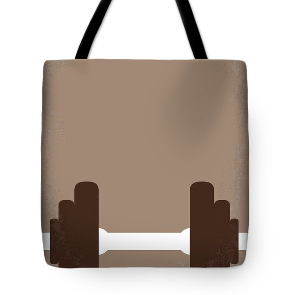 No707 My Pumping Iron Minimal Movie Poster Tote Bag
