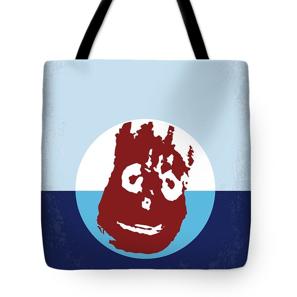 No718 My Cast Away Minimal Movie Poster Tote Bag