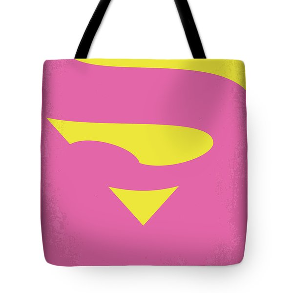 No720 My Supergirl Minimal Movie Poster Tote Bag
