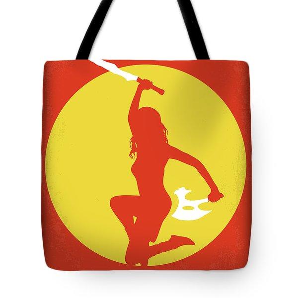 No722 My Serenity Minimal Movie Poster Tote Bag by Chungkong Art