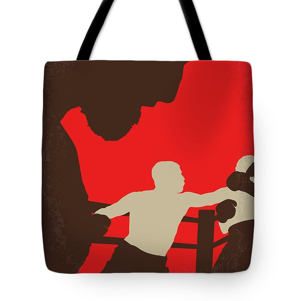 No723 My Southpaw Minimal Movie Poster Tote Bag